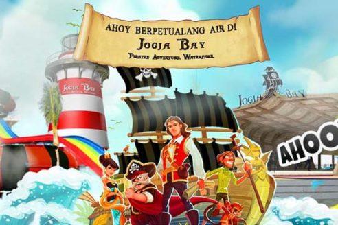Jogja Bay Pirates Adventure Park, Tempat Wisata Baru di Jogja Yang Perlu Di Coba