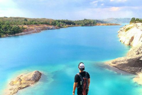Rute dan Lokasi Danau Biru Nes XII, Pesona Wisata Alam Yang Sangat Mempesona dari Kalimantan Selatan