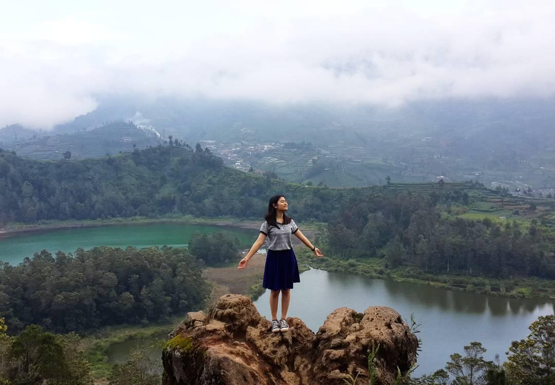 Lokasi dan Rute Menuju Bukit Pandang Batu Ratapan Angin Wonosobo