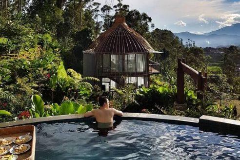 Rute dan Harga Sewa Bubu Jungle Resort Ciwidey Bandung, Penginapan dengan Suguhan Pemandangan Khas Kota Kembang